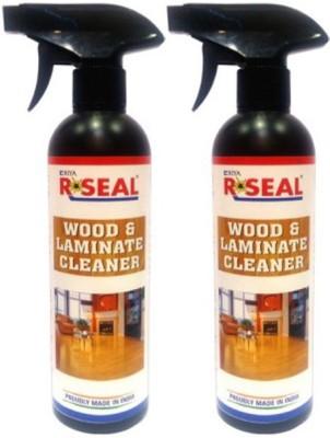 RSEAL WOOD&LAMINATE CLEANER PACK OF 2 Bathroom Floor Cleaner(1000 ml, Pack of 2)