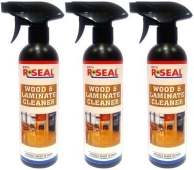 RSEAL WOOD&LAMINATE CLEANER PACK OF 3 Bathroom Floor Cleaner