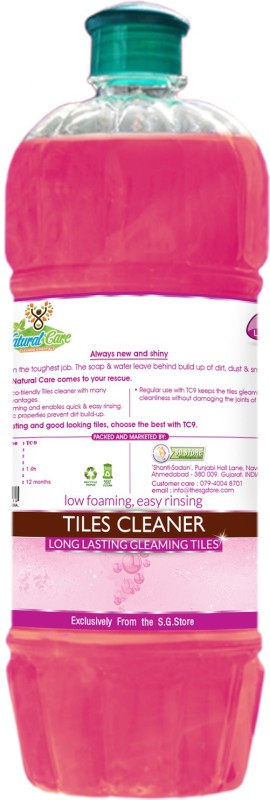 Natural Care Daily Tiles Cleaner Bathroom Floor Cleaner(900 ml, Pack of 1)