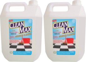 Cleanmax (LIME) Disinfectant Bathroom Floor Cleaner(5 L, Pack of 2)