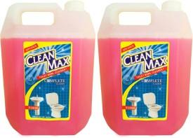 Cleanmax 5L -Pack of 2- Toilet Bowl & Bathroom Floor Cleaner(5 L, Pack of 2)