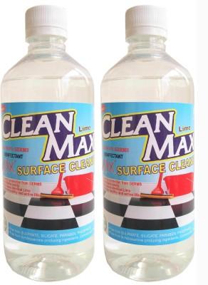 Cleanmax 500ml -Pack of 2- (LIME) Disinfectant Bathroom Floor Cleaner