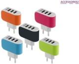 Accessoreez 3 USB port Wall Adapter Mobi...