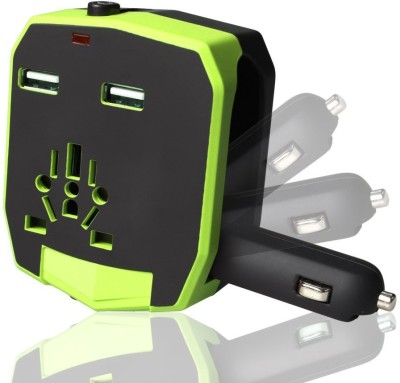 Chevron Dual USB 2.1A World-Wide Battery Charger