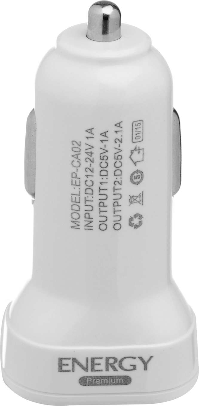 Energy Premium EP-CA02 Mobile Charger(White)