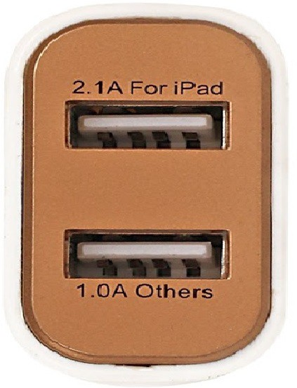 Teck Temple TT-WC-GD Mobile Charger(Gold)