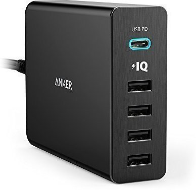 Anker A2053L11 Mobile Charger(Black)