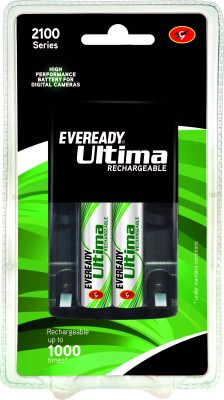 Eveready 2100 Series (with 2 AA Rechargeable battery - 2100 BP2C) Battery Charger