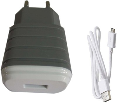 Trost Grey USB Adapter with Cable Battery Charger