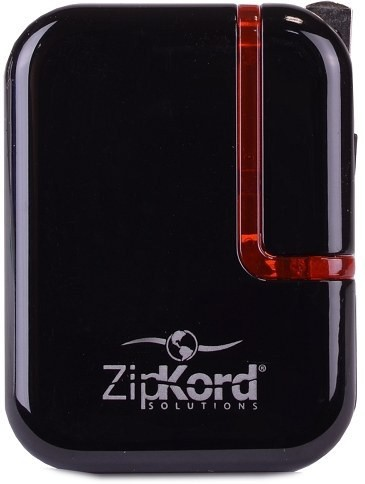 ZipKord POWAC2A2 Mobile Charger(Black)