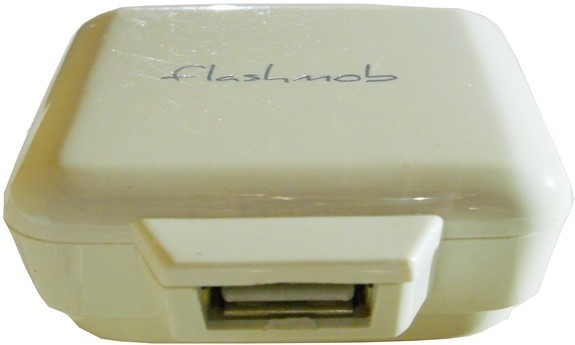 Flashmob C503WC Mobile Charger(White)