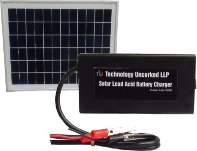 TechnologyUncorked Versatile Solar Battery Charger with solar panel for 4/6/12V Lead Acid Battery_02 Battery Charger
