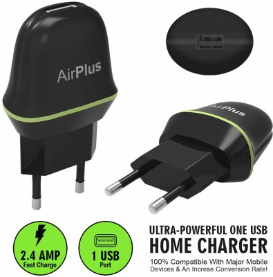 AirPlus 1 USB Universal AC wall Travel Home charger Adapter with 2.4A Battery Charger