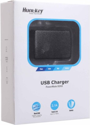 Huntkey Dual USB Charger Battery Charger