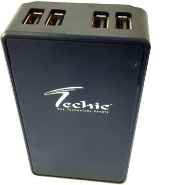 Techie 30W 5V 6A Port USB Wall charger portable Travel Adapter for Android Tablets. Battery Charger