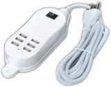 Vogueshell 6PORTUSB Mobile Charger (Whit...