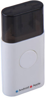 Portronics Juicer Mobile Charger(White)