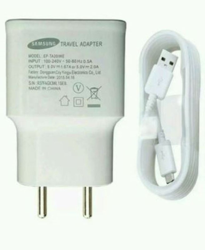 SAMSUNG Travel Adapter EP-TA13IWEUGIN White Mobile Charger(White)