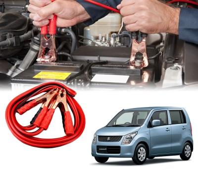 Auto Pearl Car 500 Amp Heavy Duty Booster Anti Tangle Copper Core For - Maruti Suzuki WagonR New 7.5 ft Battery Jumper Cable