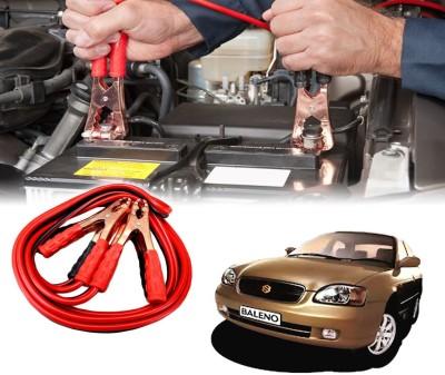 Auto Pearl Car 500 Amp Heavy Duty Booster Anti Tangle Copper Core For - Maruti Suzuki Baleno 7.5 ft Battery Jumper Cable