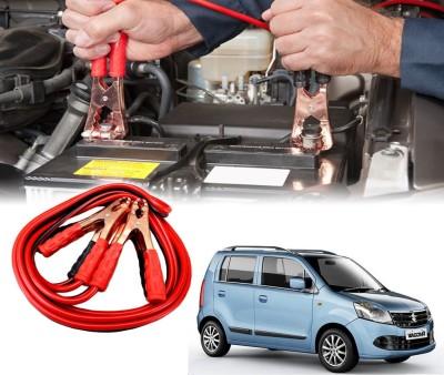 Auto Pearl Car 500 Amp Heavy Duty Booster Anti Tangle Copper Core For - Maruti Suzuki WagonR 7.5 ft Battery Jumper Cable