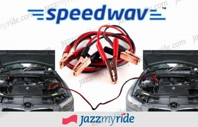 Speedwav 23399 4.92 ft Battery Jumper Cable