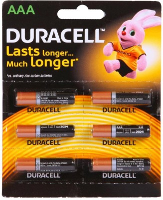 Duracell Battery - AAA MN2400-LR03(Black, Copper)