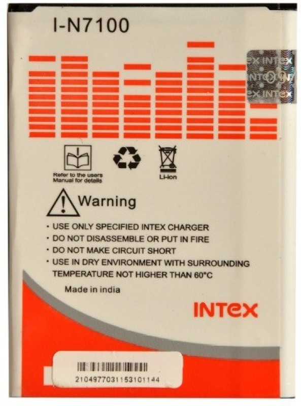 Intex  Battery - I-N 7100(White)