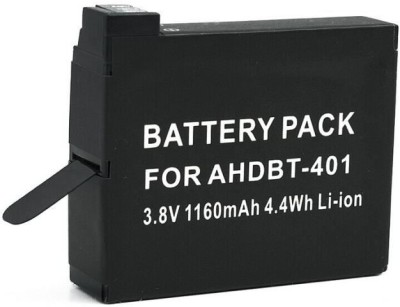 Power Smart  Battery - AH DBT 401 3.8V 1160 mAH 4.4WH Li ion Type For Go Pro Hero 4 Series Camera