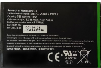 Asmyna  Battery - High Capacity- For Torch 9860 JM 1