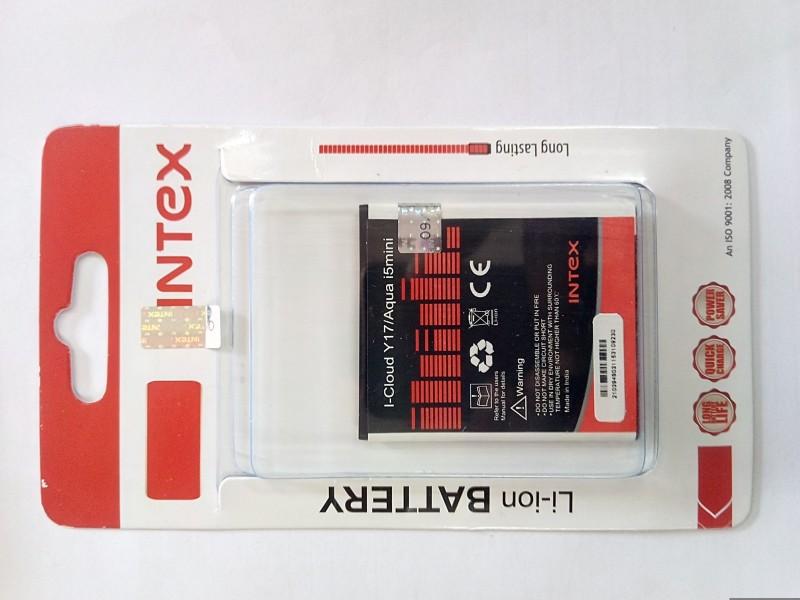 Intex  Battery - AQUA I5MINI(Black, Red)