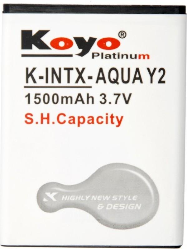 Koyo  Battery - Intex Aqua Y2(White)
