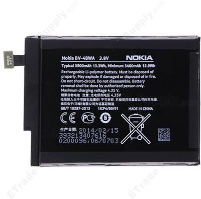 UniqueEnterprises  Battery - Nokia Battery-BV-4BWA