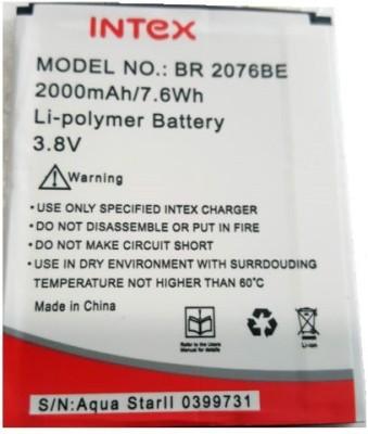 DBNS  Battery - BR2076BE BATTERY For Intex Aqua Star 2 HD