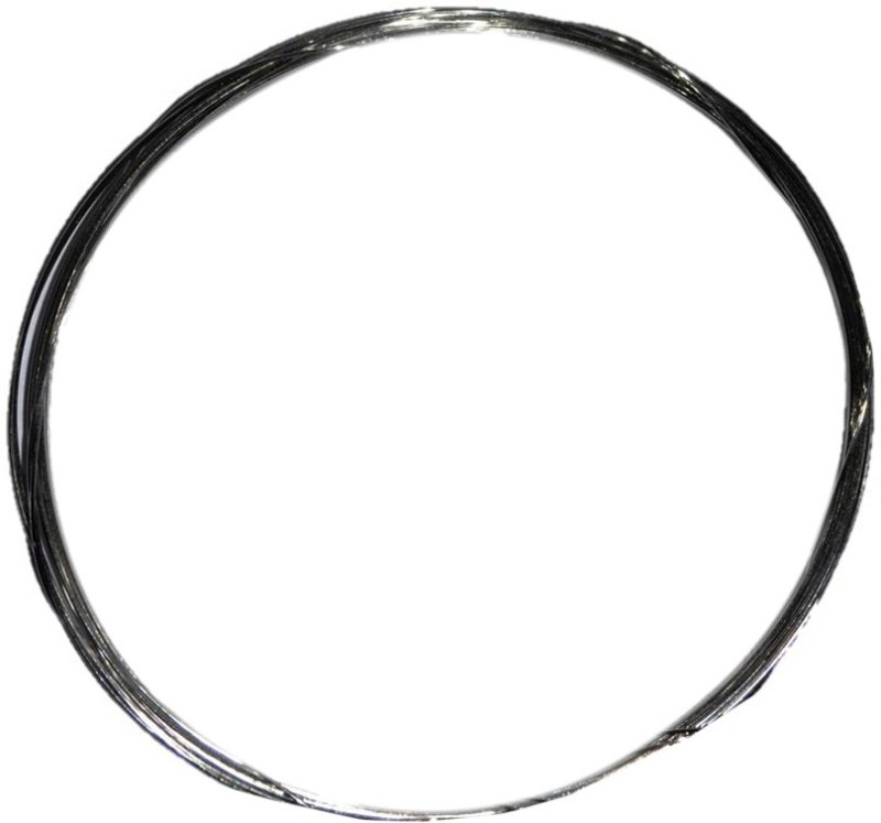 Jeevikrish Creations Silver Beading Wire(Diameter :  0.1 mm)