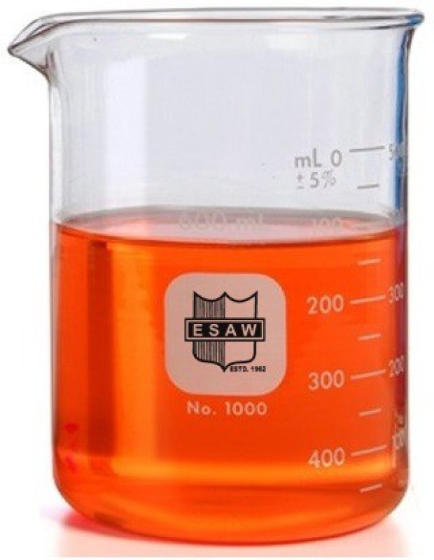 E.S.A.W 500 ml Tall Form Beaker(Pack of 2)