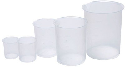 MiCare 1000 ml Flat Beaker(Pack of 6)