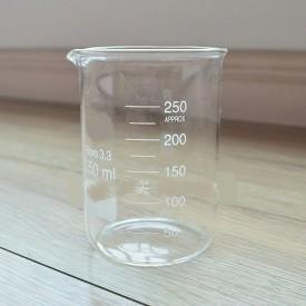Analisis 250 ml Low Form Beaker