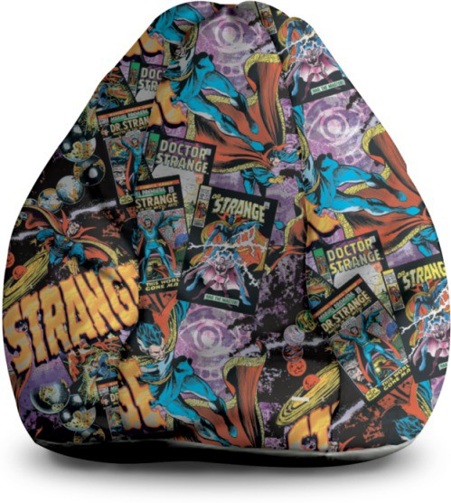 View Marvel XXL Bean Bag Cover(Multicolor) Furniture (Marvel)