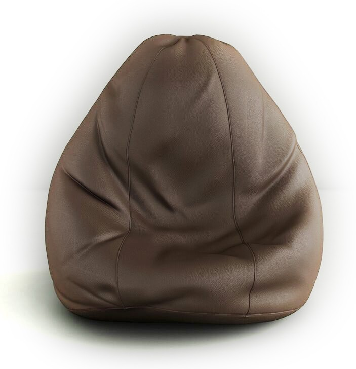 View Splendid XXL Bean Bag Cover(Brown) Furniture (Splendid)