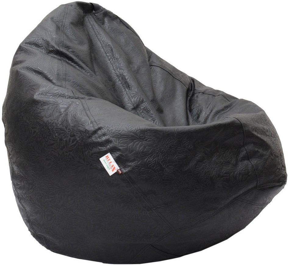 View Relax XXXL Bean Bag Cover(Black) Furniture (Relax)