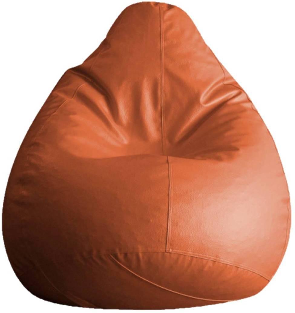 View SK BEANBAGS XL Teardrop Bean Bag Cover(Tan) Furniture (SK BEANBAGS)