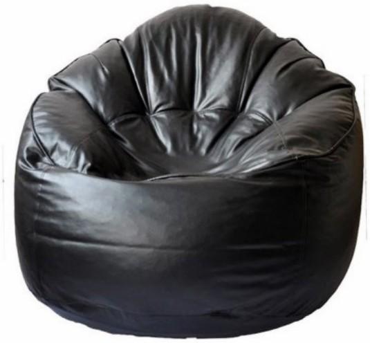 View Fab Homez Medium Bean Chair Cover(Black) Furniture (Fab Homez)