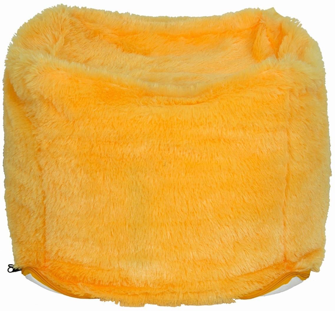 Creative Textiles XXL Bean Bag Cover(Yellow)   Furniture  (Creative Textiles)