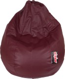 Olybo XXL Bean Bag Cover (Maroon)