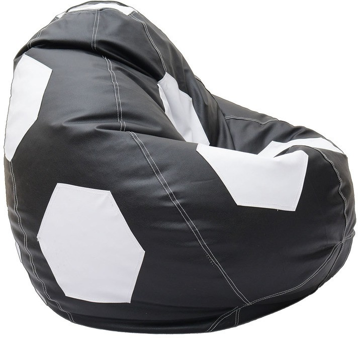 View Relax XXXL Bean Bag Cover(Black, White) Furniture (Relax)