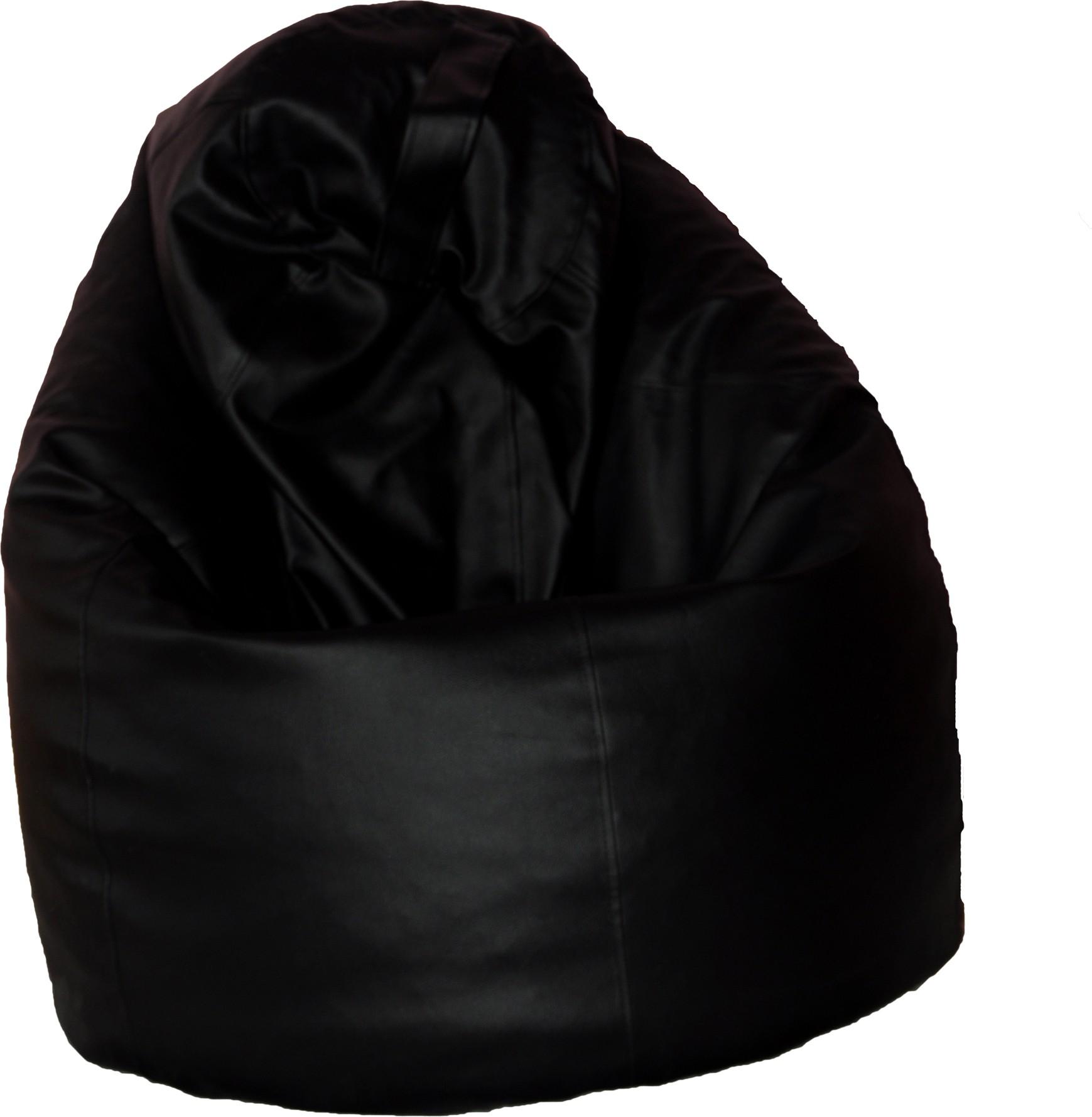 View Amaze XXXL Bean Bag Cover(Black) Furniture (Amaze)