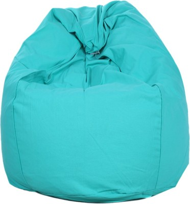 REME XL Lounger Bean Bag Cover(Green)