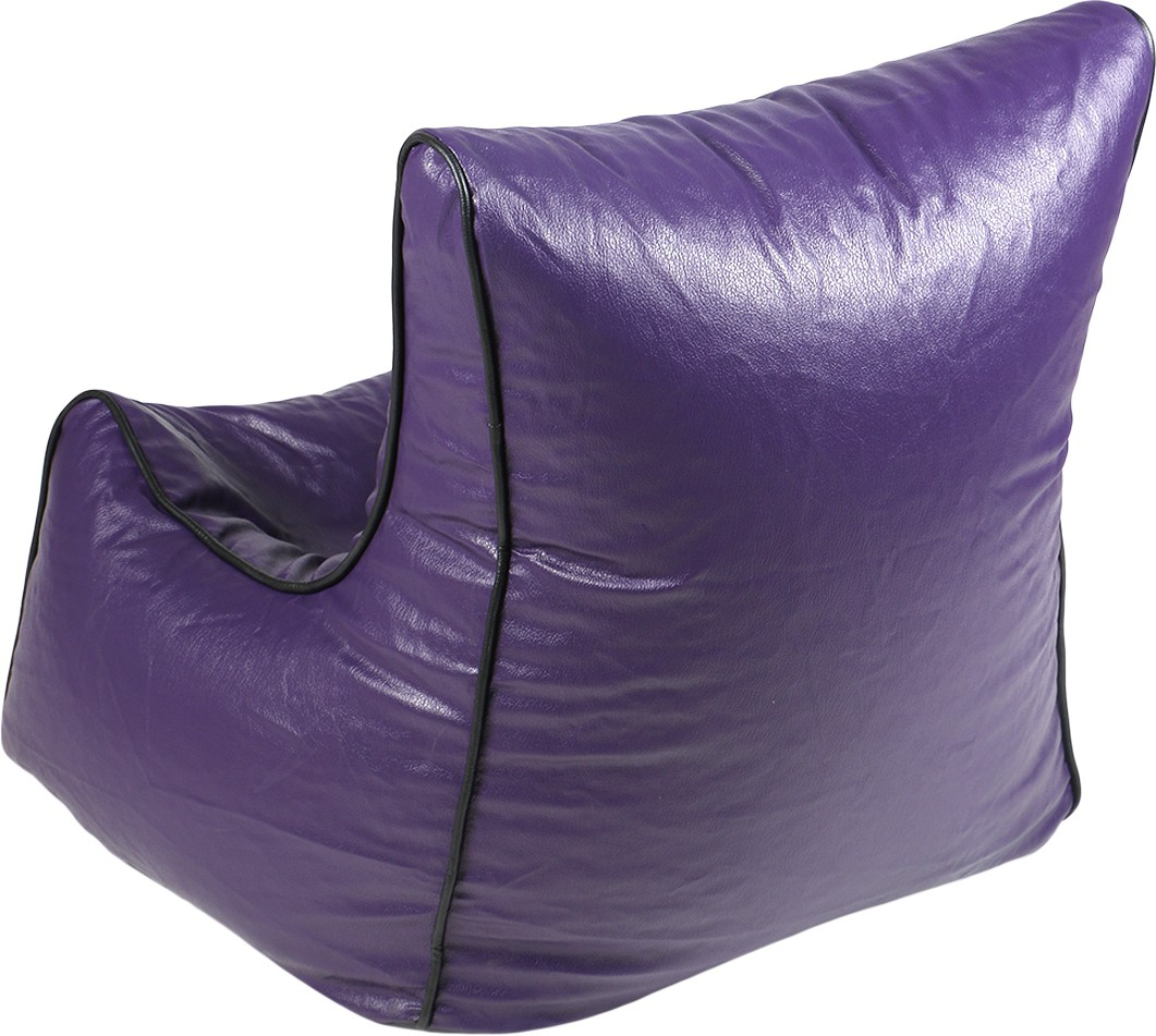 View Rehal XXL Bean Bag Cover(Purple, Black) Furniture (Rehal)