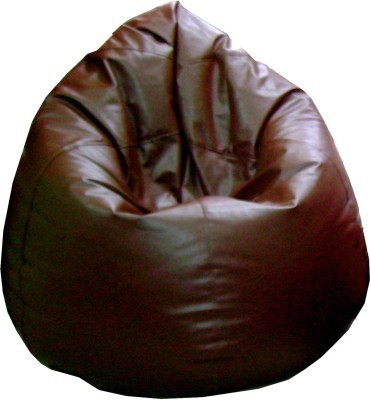 View Happy XL Bean Bag Cover(Brown) Furniture (Happy)